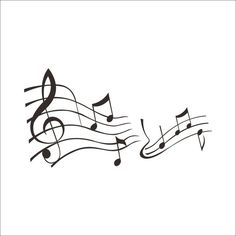 Rhythm Music Note PVC Plane Wall Stickers Red Black 2 Options ($9.80) ❤ liked on Polyvore featuring home, home decor, wall art, music, backgrounds, wall stickers, music sheet, music themed wall art, music wall stickers and musical notes home decor