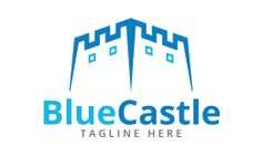 Blue Castle Logo Template