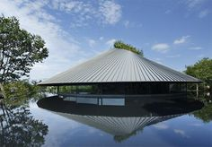 Sayama Cemetery Hall by Hiroshi Nakamura A roughly circular plan has an inner core of service functions and an outer ring of public and p...