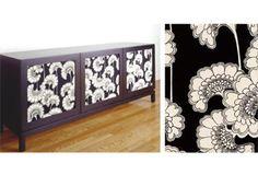 Florence Broadhurst Japanese floral print insert