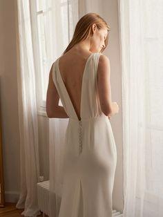 La Redoute, Mode française | La Redoute Anti Cellulite, Marie, Backless, Couture, Wedding Dresses, Collection, Wedding Ideas, Lingerie, Blog