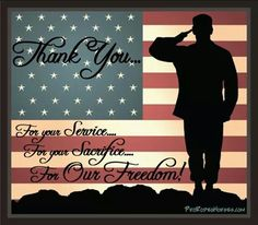 In honor of Veterans- Monday Veterans Day will be observed with gratitude. Any and all active or retired veterans. In honor of Veterans- Monday Veterans Day will be observed with gratitude. Any and all active or retired veterans.