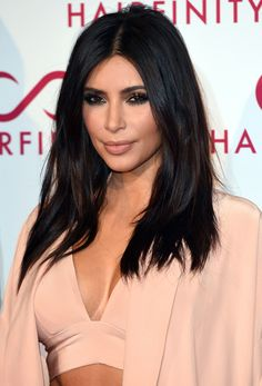 Kim Kardashian's Hairstylist Demos How to Get Her Textured Waves Using a Flatiron from #InStyle
