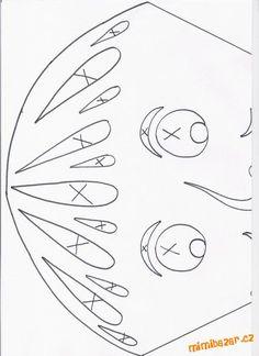 Na základě spousty reakcí, vkládám předlohy pro vytvoření podzimních… Kirigami, Diy And Crafts, Paper Crafts, Paper Stars, Fall Halloween, Paper Cutting, Drake, Classroom, Symbols