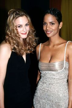 These '90s Photos Of Celebrities Are Just Ridiculous #refinery29  http://www.refinery29.com/2015/08/92489/90s-red-carpet-celebrity-pictures#slide-19  Alicia Silverstone & Halle Berry, 1995Basically queens of the '90s....