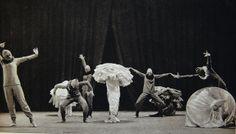 Photograph of Mary Wigman's TanzMärchen in Berlin 1925 in Das Mary Wigman-Werk: Mit Beiträgen von Mary Wigman und 80 Abbildungen by Rudolf Bach. Dresden: C. Reissner, 1933. GV1785.W5 B3