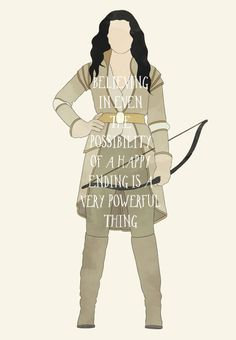 'Believing in even the possibility of a happy ending is a very powerful thing' quote by Snow White | Once Upon a Time