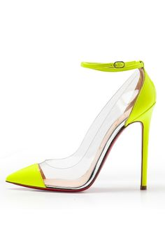 Louboutin Spring 2012 - these would look great with my Current Elliott boyfriend jeans!