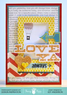 Write Snap Scrap: Love Ya Always: Fancy Pants Designs What a Wonderful Day Get Fancy Pants at www.craftysteals.com