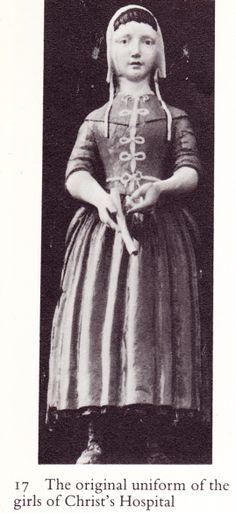 1553 Christ Hospital School girl's uniform