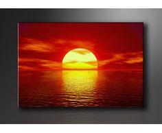Jednodielny obraz na plátne Západ slnka na pláži, šírka 80 cm 70 €
