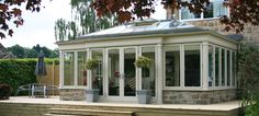 [ Bespoke Hardwood Conservatories Hardwood Orangeries ] - Best Free Home Design Idea & Inspiration Garden Room Extensions, House Extensions, Glass House Garden, Orangery Extension Kitchen, Skylight Shade, Bungalow, Porch Plans, House Extension Design, Roof Lantern