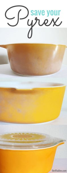 Thriftables: How to Restore Pyrex