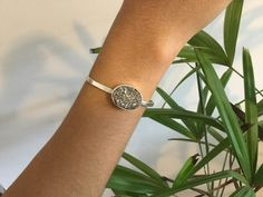 Bracelete em prata 925 com pirita #handmadejewerly #feitoamao #bracelete #bracelet #euquefiz #arletegsiqueira #joiadebancada #prata925 #silver925 #pirita #handmade #joalheriaartesanal