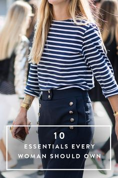 10 New Fashion Essentials Every Woman Should Own via @PureWow
