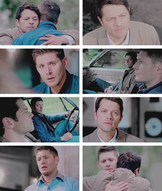 It's always gonna be wrong place, wrong time with us, isn't it?  #spn #destiel