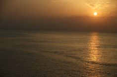 Sunrise from the Fairmont Hotel in Monte Carlo.