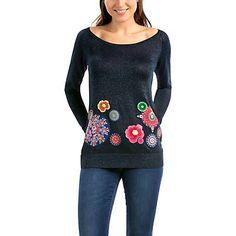 Me gustó este producto Desigual Sweater Analia. ¡Lo quiero!