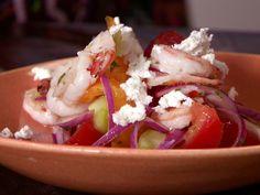 Shrimp, Tomato and Feta Salad