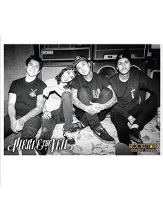 Pierce The Veil (Band 2015) Poster. Buy Pierce The Veil (Band 2015) Poster at the official Pierce The Veil online shop
