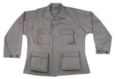 BDU Shirt Swat Gray Ultra Force XXLARGE XXL Tactical Cotton Poly New #UltraForce #BDU