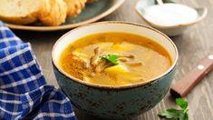 Hlivová polievka so zemiakmi | Varený-pečený