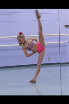 Chloe from dance moms. I love her I hate she is not on Dance Moms Anymore!  but she is happier and that is all that matters!