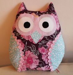 Owl Cushions, made by Lisa G Creations