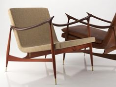 Great example of Brazilian modernism, Dinamarquesa chair by Jorge Zalszupin, designed in 1959.