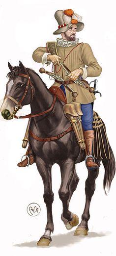 Bruno Mugnai - Reitre imperial, c. 1593
