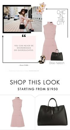 """""""Chic in the City"""" by breenelson-style ❤ liked on Polyvore featuring Gucci"""