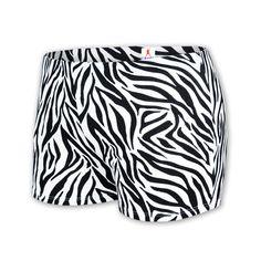 Chasse Zebra Print Boy-Cut Briefs