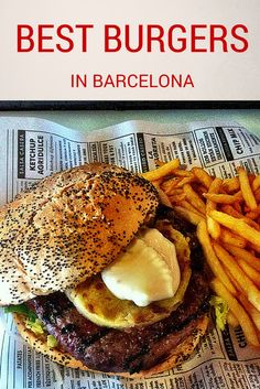It may not be an every day occurrence, but every once in a while we just crave a big, juicy burger. We must not be the only ones either…Barcelona has seen a major burger boom in recent years and shrines to them have popped up all over town. Check out some of the best burgers in Barcelona, and cast your vote for which you prefer in the comments! http://devourbarcelonafoodtours.com/best-burgers-in-barcelona/