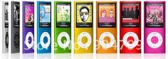 Бесплатная доставка 16GB 4-го поколения MP3-плеер с FM.