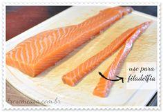 como fazer sushi filadélfia