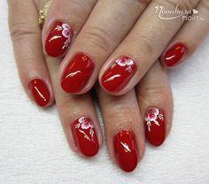 Az örök klasszikus, a piros szín kedvelőinek szól soron következő körömdíszítési tippünk. Toe Designs, Short Nail Designs, Nail Art Designs, Autumn Nails, Dream Nails, Short Nails, Ruby Red, Wedding Nails, Beauty Nails