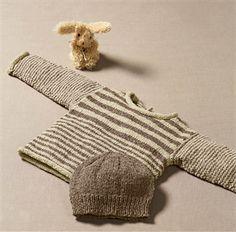 Bergere de France Babies Knitting Patterns Roll Neck Sweater Pattern. 1-18 months