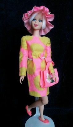 Stunning Vintage Barbie Platinum Twiggy 1185 Casey Francie Wonderful | eBay