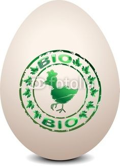 Biological Egg Mark-Vector © bluedarkat