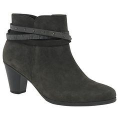 Buy Gabor Solero Block Heeled Ankle Boots Online at johnlewis.com