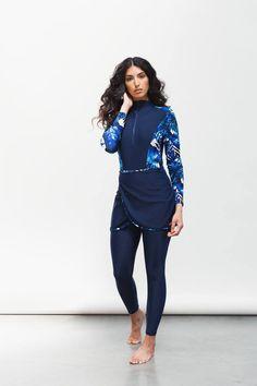 Islamic Swimwear, Muslim Swimwear, Swim Skirt, Swim Dress, Swimwear Fashion, Bikini Fashion, Moda Academia, Suits For Women, Clothes For Women