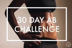This 30-day ab challenge is the best way to lose belly fat and strengthen your core muscles. Most of the people think that the abs are probably the most important muscle group in the body. All of you, whether you care about having toned abs or not - training your abs goes farther. By involving your entire core, you engage your mid-torso that include your lower back, deeper abdominals, side abs (obliques) and the most superficial, six-pack abs.