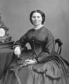 Clara Barton <3   In 4th grade, I did a speech in my class on Clara Barton, using a Kleenex doll display, my mother <3 helped me make.  I got an A .