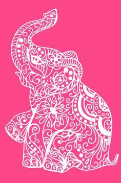 Elephant Vinyl Cut out Vinyl Crafts, Vinyl Projects, Diy And Crafts, Vinyl Cutting, Paper Cutting, Papercut Art, Silhouette Cameo Projects, Silhouette Cameo Vinyl, Cricut Tutorials