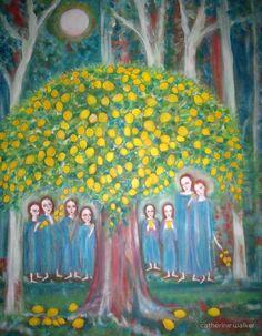 """The sacred lemon Tree"" by catherine walker"