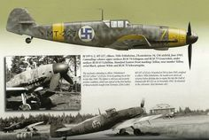 Messerschmitt Bf 109G-2 MT-227 Finnish Fighter Colours.Vol 2 1939-1945,Mushroom Model Publications