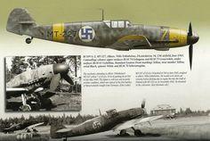 Messerschmitt Bf 109G-2 MT-227 Finnish Fighter Colours.Vol 2 1939-1945,Mushroom Model Publications