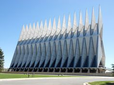 COLORADO: The 17 spires that make up the United States Air Force Academy Cadet Chapel are regarded as a masterpiece of modernist architecture.