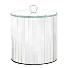 Mirror large storage jar - Co-ordinated accessories - Bathroom accessories - Home & furniture -
