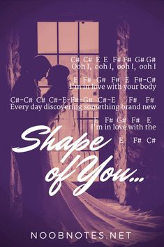 Shape of You - Ed Sheeran - music notes for newbies music notes for newbies: Shape of You – Ed Sheeran. Play popular songs and traditional music with note letters for easy fun beginner instrument practice - great for flute, piccolo, recorder, piano and Music Notes Letters, Piano Sheet Music Letters, Piano Music Easy, Flute Sheet Music, Piano Music Notes, Fun Music, Music Sheets, Indie Music, Ed Sheeran